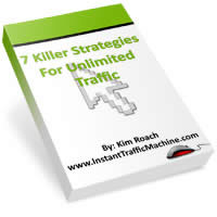 7 Strategies for unlimited traffic