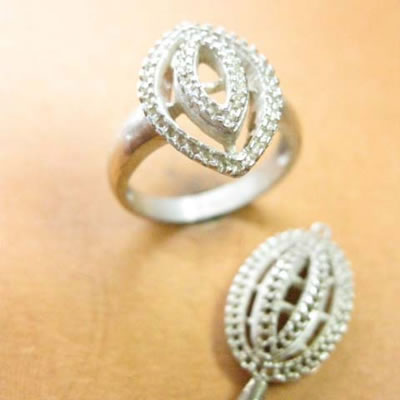 Silver jewellery master model