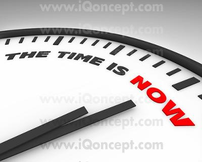 Do Not Wait Until The Midnight Hour - Begin Today