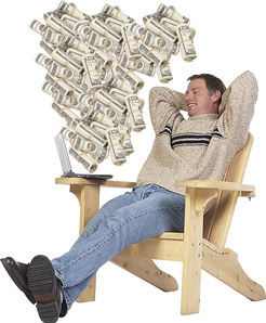 Make money by doing NOTHING!