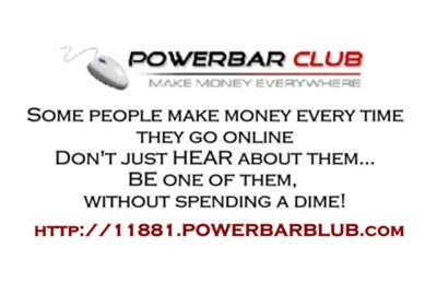 PowerBAR paid to click FREE Program