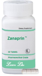 Zanaprin Bottle